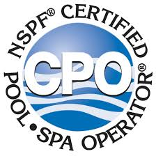 National and State Certified Pool Operator