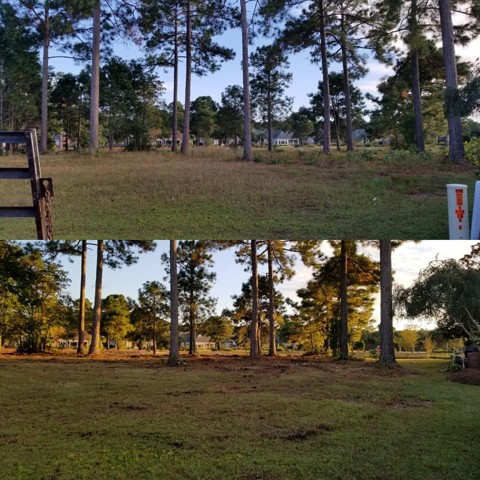 Bush hog lot in Plantation Lakes area in Myrtle Beach, SC 29577