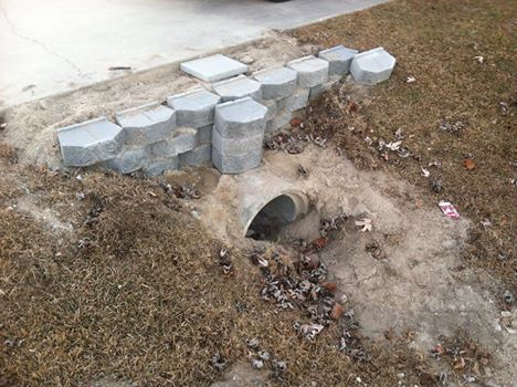 Cut Cement Pipe in Conway