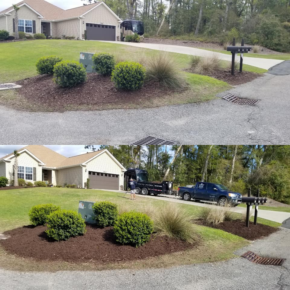 Top dressed mulch in the Little River, SC 29566